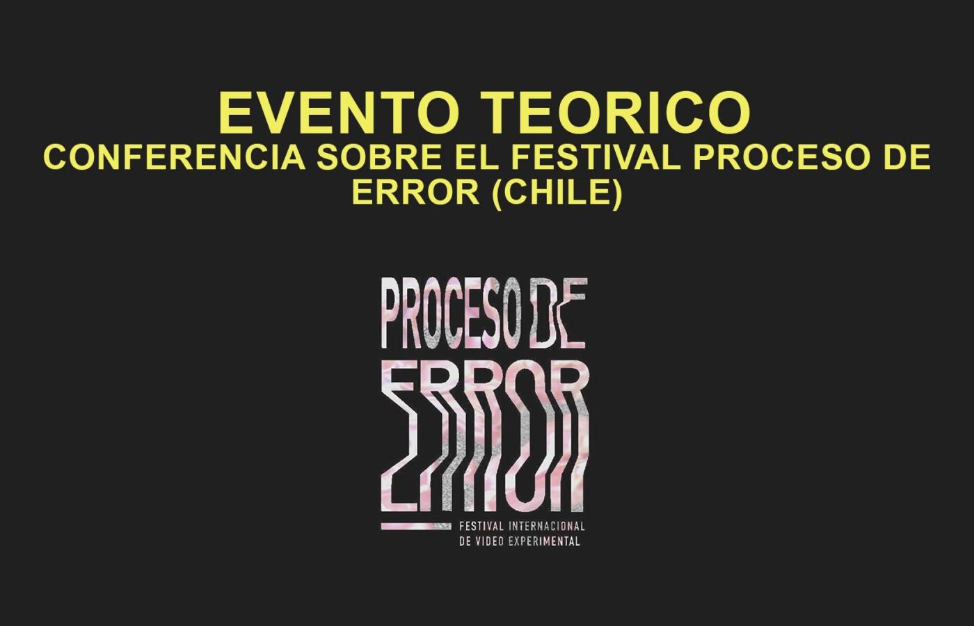 EVENTO TEORICO PROCESO DE ERROR