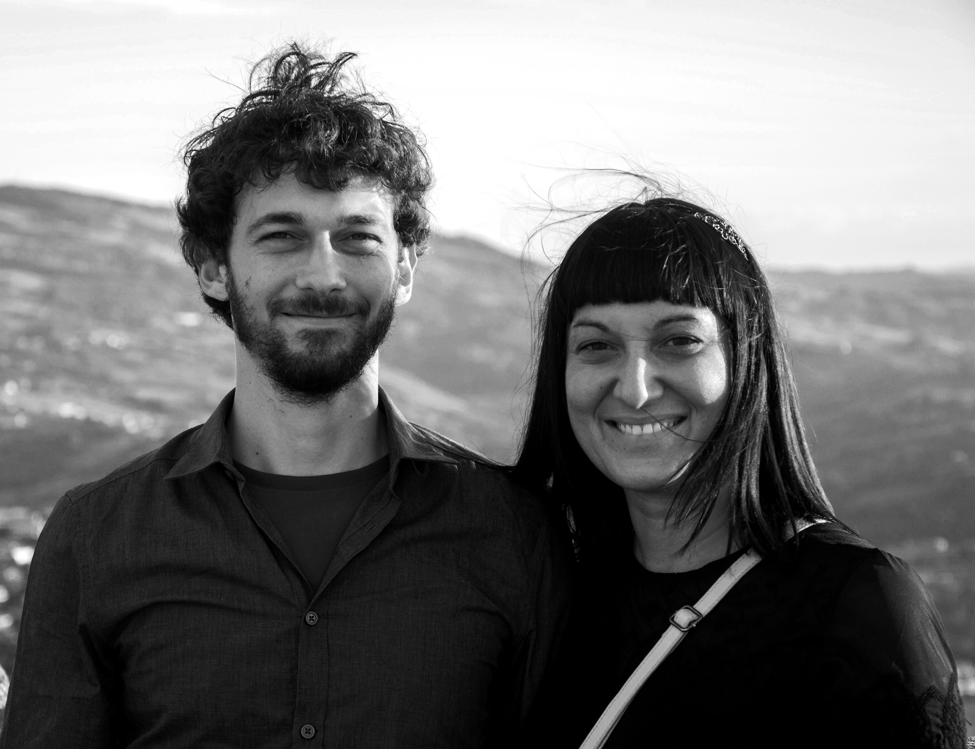 Stefano Croci and Silvia Siberini